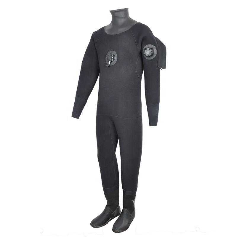 YONSUB 6.5MM custom-made Dry Suit For Men's With Vulcanized Boots - 副本