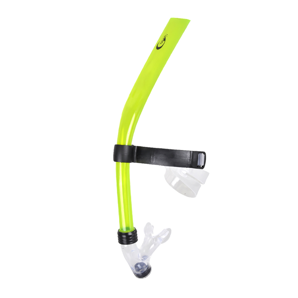 Frontal type silicone scuba diving breathing snorke tube  - 副本