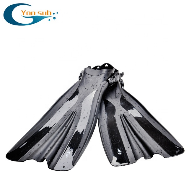 Adult Adjustable Long Flippers Scuba Diving Fins