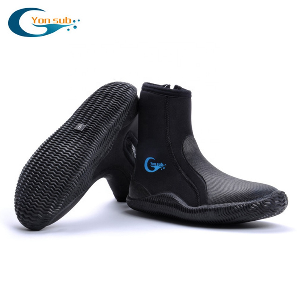 Anti skid water-proof diving boots for adult