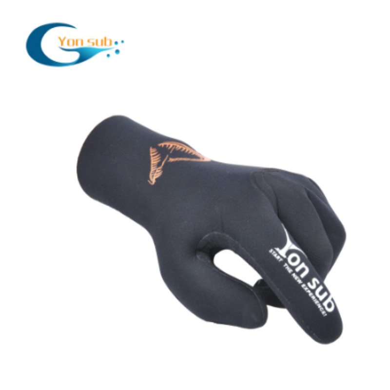 Anti skid diving gloves for snorkeling and swimming spearfishing