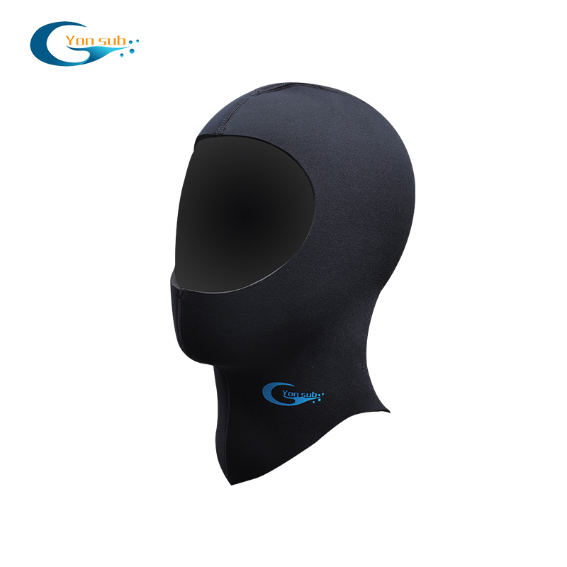 3 mm stretchable neoprene scuba diving hood
