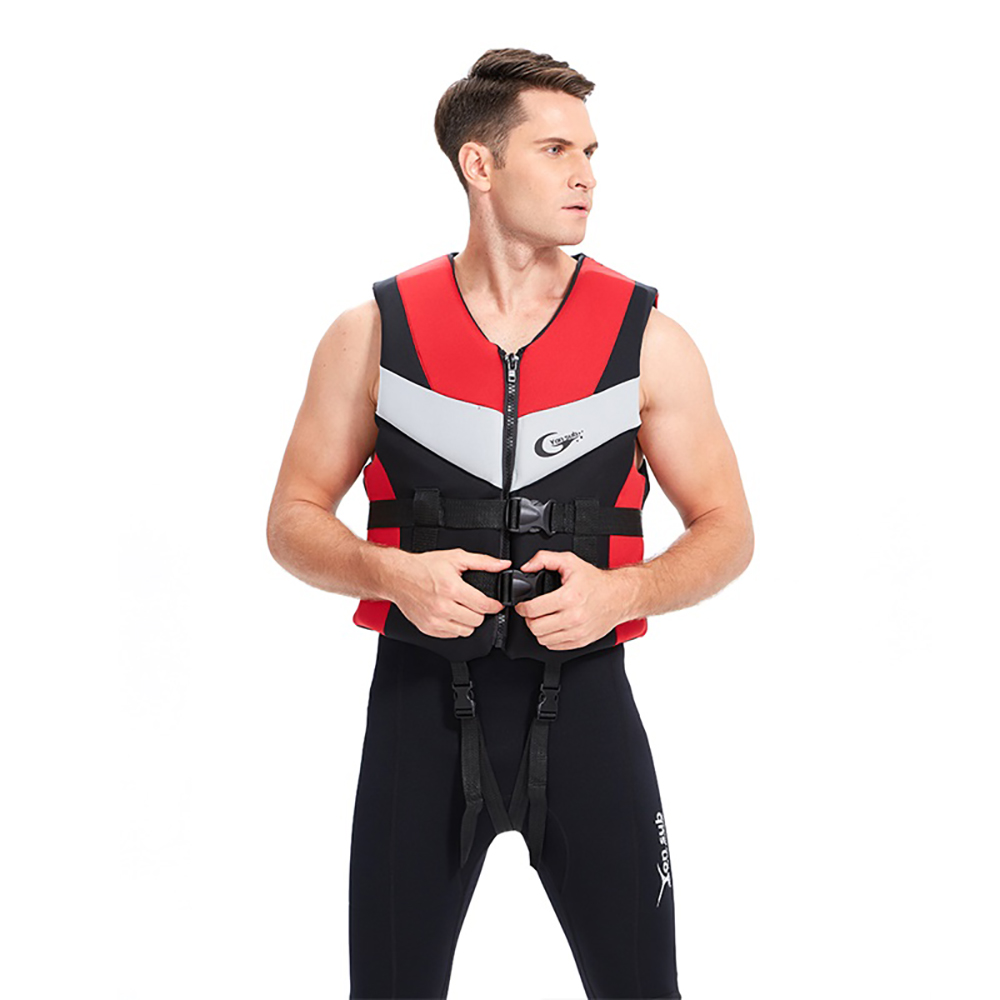 Fashionable design good price EPE foam floating life jacket