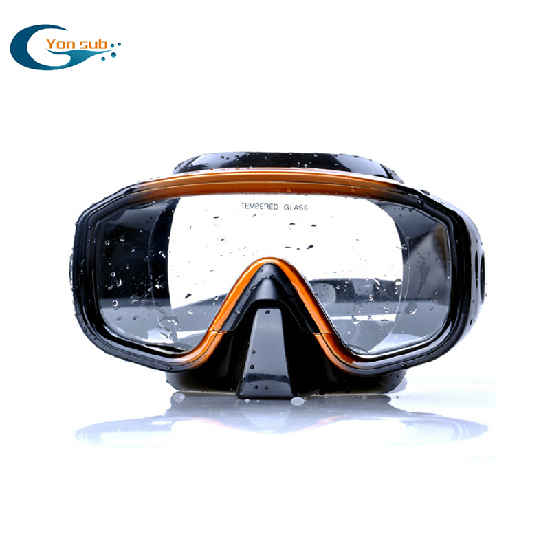 Professional High Quality One-Window Silicone Scuba Diving Mask
