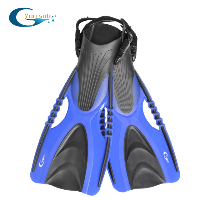 Adjustable long Blade flippers Scuba Diving And Swimming Fins