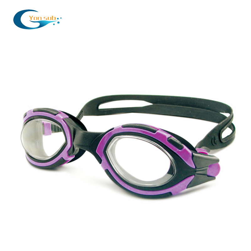 UV protection mirrored swimming goggles eyewear for kids