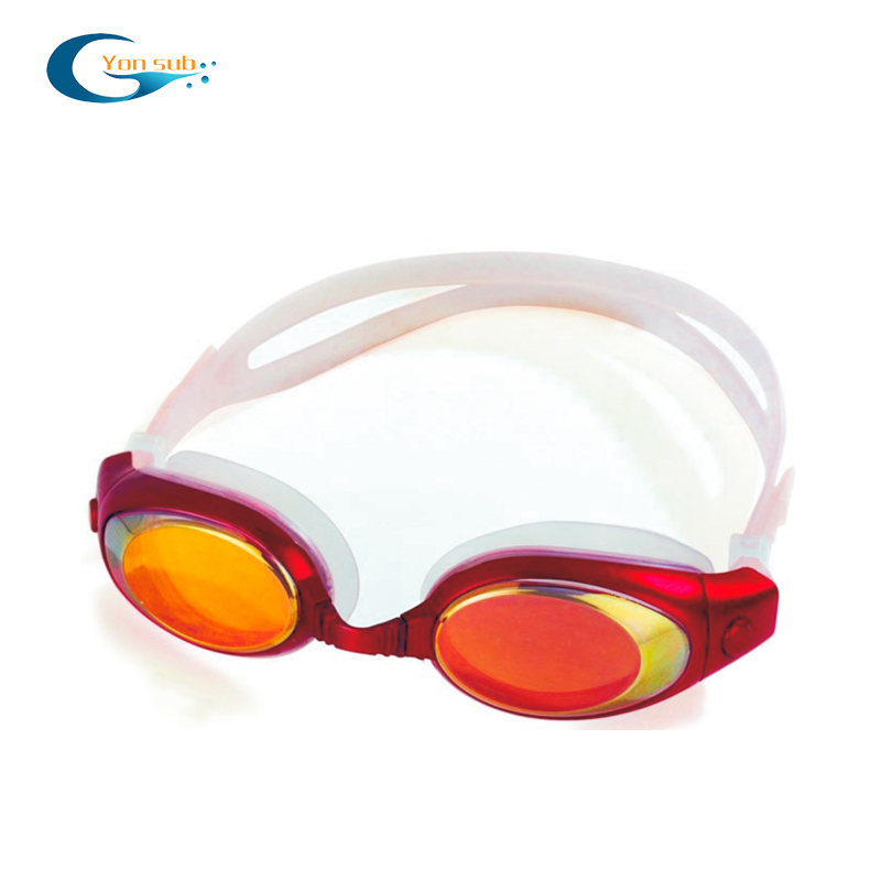 Waterproof anti fog swimming glasses goggles for sale