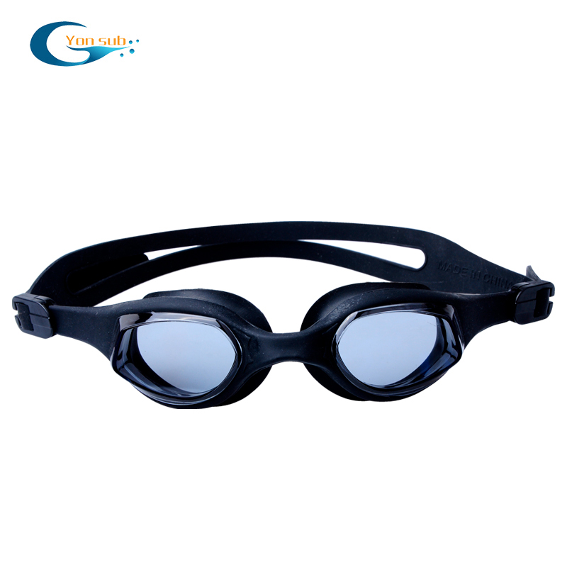 Silicone swimming goggles for adult