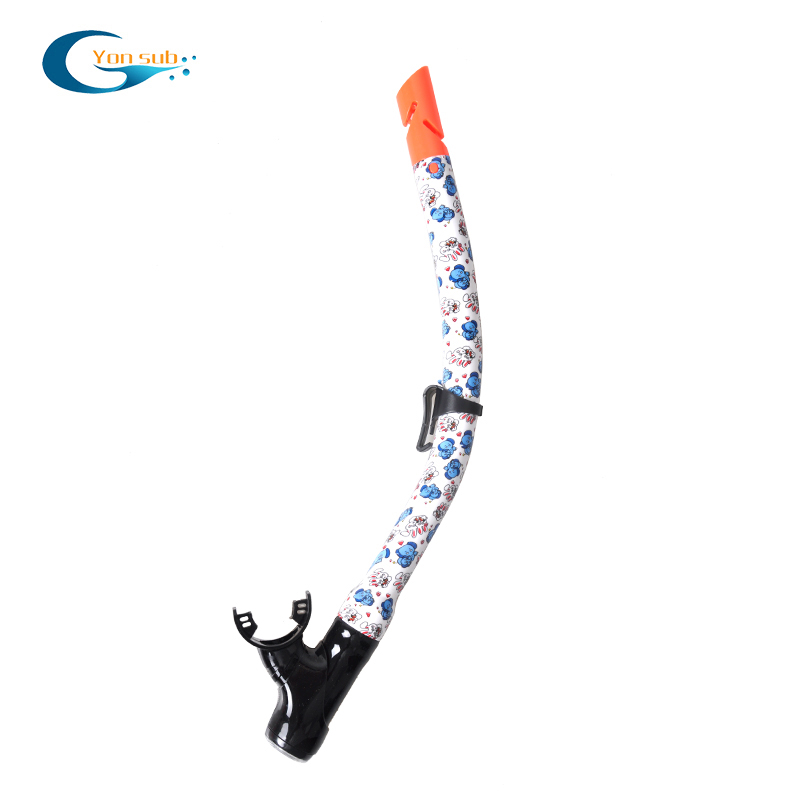 High quality scuba diving swimming snorkel breathing tube
